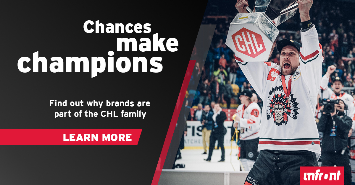 Become a partner brand for the Champions Hockey League