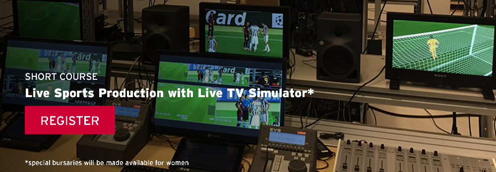 Short Course - Live Sports Production with Live TV Simulator